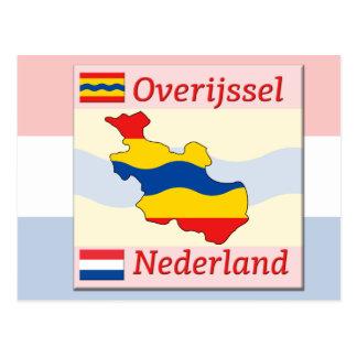 Overijssel- Nederland Postcard