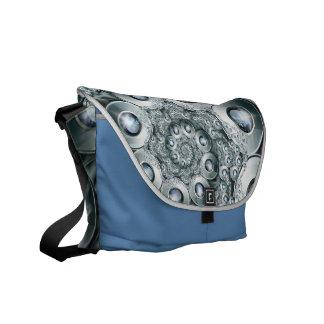 Overjeweled  Rickshaw Messenger Bag