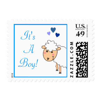 Overjoyed It's a Boy Postage