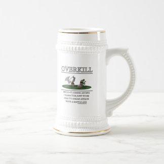 Overkill Fantasy (de)Motivator 18 Oz Beer Stein