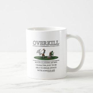 Overkill Fantasy (de)Motivator Classic White Coffee Mug