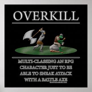 Overkill Fantasy (de)Motivator Poster