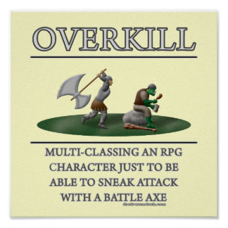 Overkill Fantasy (de)Motivator Posters