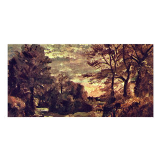 Overland By John Constable (Best Quality) Personalized Photo Card