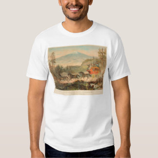 Overland Mail Company (1268A) Tee Shirt
