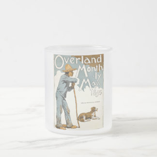 Overland Monthly. May, 1895 Frosted Glass Coffee Mug
