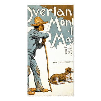 Overland Monthly. May, 1895 Photo Card