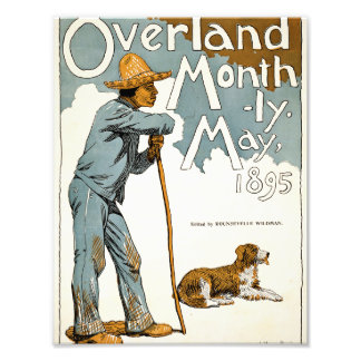 Overland Monthly. May, 1895 Photo Print