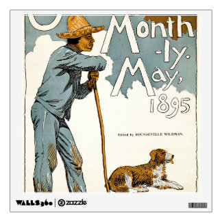 Overland Monthly. May, 1895 Wall Decal