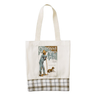 Overland Monthly. May, 1895 Zazzle HEART Tote Bag