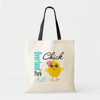Overland Park KS Chick Tote Bag