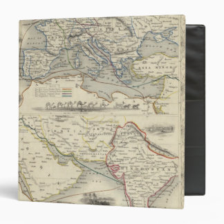 Overland Route To India 3 Ring Binder
