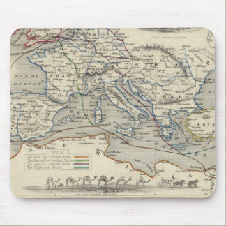 Overland Route To India Mouse Pad