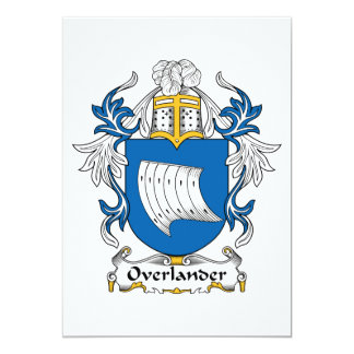 Overlander Family Crest Cards