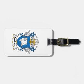 Overlander Family Crest Bag Tag