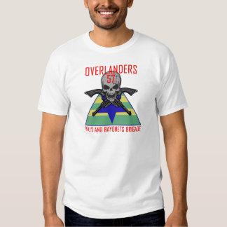 Overlanders 57th Brigade-Balls and bayonets T-shirt