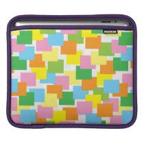 Overlaping Rectangular Pattern iPad Sleeve
