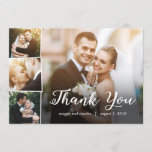 """Overlapped Photos Thank You Card<br><div class=""""desc"""">Modern and stylish save the date cards from Berry Berry Sweet Designs. Visit our design showroom at WWW.BERRYBERRYSWEET.COM for more stylish stationery designs. Other color options are available.</div>"""
