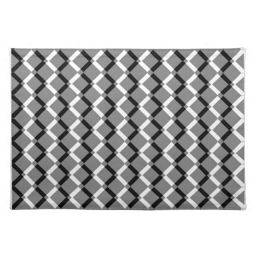 pattern placemats pattern place mats zazzle. Black Bedroom Furniture Sets. Home Design Ideas