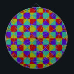 "Overlapping Checker Dart Board<br><div class=""desc"">Multiple colors</div>"