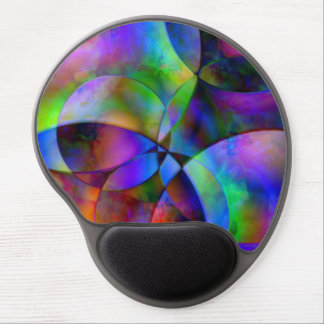 Overlapping Circles Gel Mouse Pad