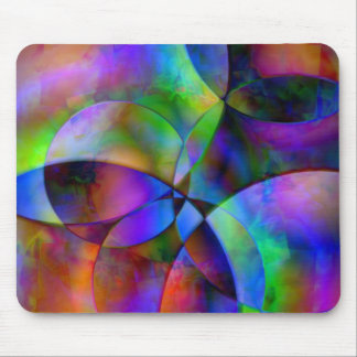 Overlapping Circles Mouse Pads