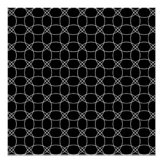 Overlapping Circles Poster