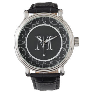 Overlapping Circles Wrist Watches