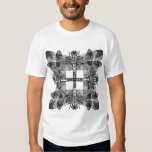 Overlapping Dragonflies Squared T-shirts