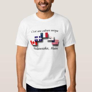overlapping flags jpg, Madawaska, Maine, C'est ... Shirt