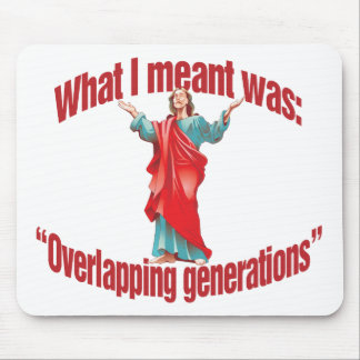 Overlapping Generations Mouse Pads
