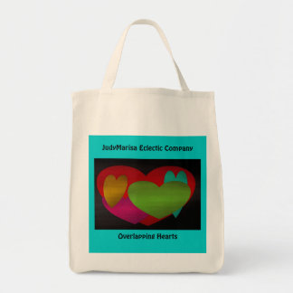 Overlapping Hearts, Tote Bag
