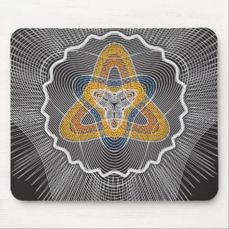 Overlapping Lines Mousepad