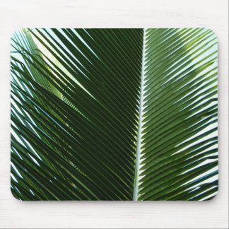 Overlapping Palm Fronds Mousepad