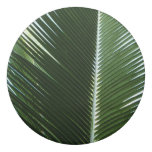 Overlapping Palm Fronds Tropical Green Abstract Eraser