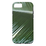 Overlapping Palm Fronds Tropical Green Abstract iPhone 8/7 Case