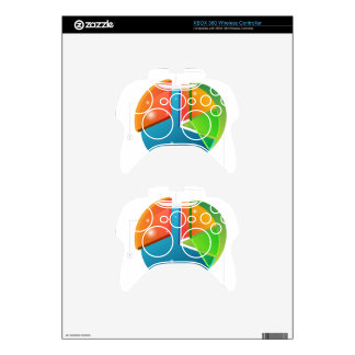 Overlapping Pie Chart Financial Business Profit Xbox 360 Controller Decal