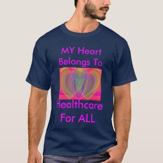 Overlapping Rainbow Hearts T-Shirt