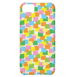 Overlapping Rectangle Pattern iPhone 5C Case