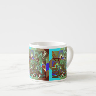 Overlay Abstract Exciting Design Espresso Cup