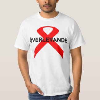 överlevande , is survivor in swedish. T-Shirt