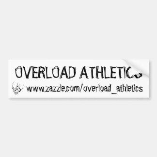 Overload Athletics Bumper sticker