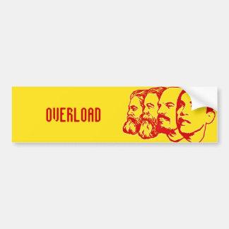 OVERLOAD bumper sticker