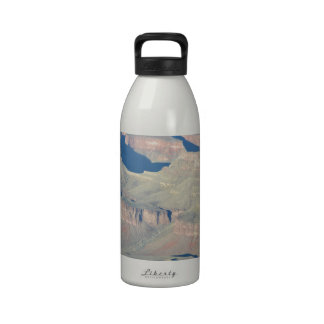 Overlook Grand Canyon National Park Mule Ride Reusable Water Bottle
