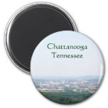Overlook of Chattanooga, TN 2 Inch Round Magnet