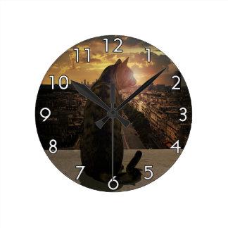 Overlook Round Clock