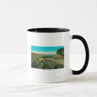 Overlooking Castaic CreekRidge Route, CA Mug