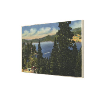 Overlooking Emerald Bay Canvas Print