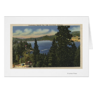 Overlooking Emerald Bay Greeting Cards