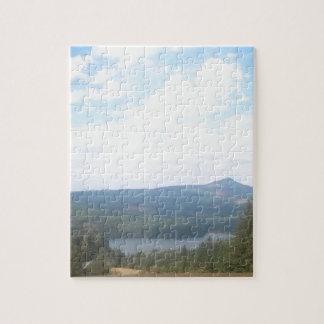 Overlooking Foster Reservoir Jigsaw Puzzles